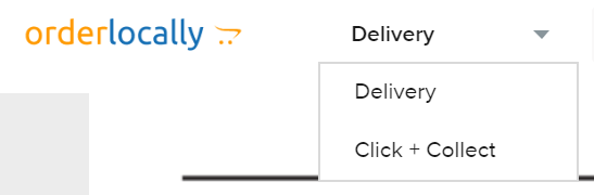 Click order collection method